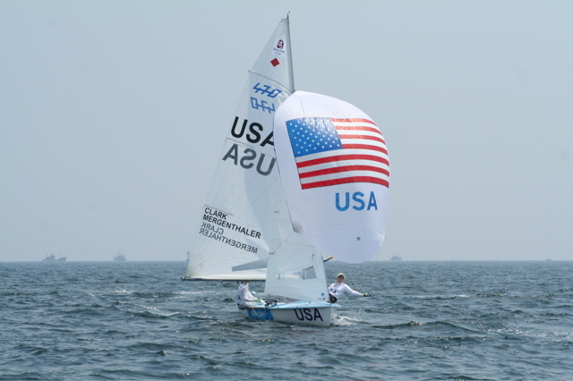 2008 Olympic Games Day 2, Downwind during Race #4